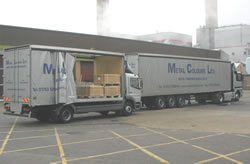 Metal Colours Ltd -  Logistics